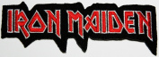 iron maiden patches 11.5x4 cm Music Band patch Embroidered Iron on Patch