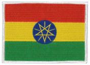 Ethiopia Flag Patch 12 X 9CM