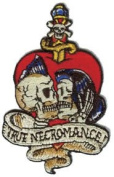 Vince Ray Artist Patch - 8.9cm Skull True Love Necromace