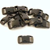 50cm - 1cm Contoured Plastic Buckles Quality Buckles