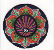 Om Mantra Nepal Symbol Embroidered Iron on Patch L3
