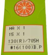 Orange Sewing Machine Needles Size16