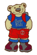 Cute Bear Kids Back to School Student Cartoon DIY Applique Embroidered Sew Iron on Patch