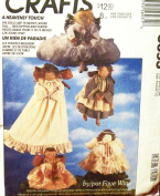McCall's Crafts Pattern 5693 ~ A Heavenly Touch 48cm Angel Doll by Faye Wine