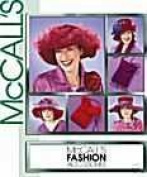 Mccall's 3987 Hats & Purses for RED HAT CLUB, Historical Hats, Fashion Accessories ALL SIZES in ONE Sewing Pattern