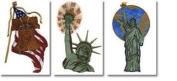 Brother SA630 Liberty Applique Embroidery Designs on Floppy