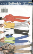 Butterick Fast & Easy Classics #5702 - Misses, Petite, Jacket, Vest & Pants Sizes 12, 14, 16
