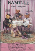 Camille : A French Country Bear - 46cm Tall [Sewing Pattern]