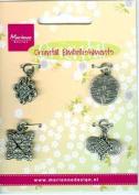 Ecstasy Crafts Oriental Embellishments -Knots