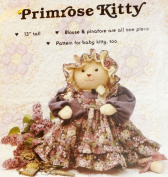 OOP Gooseberry Hill Craft Pattern 139. 33cm Stuffed Primrose Kitty + Clothes