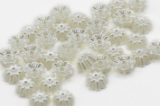 10mm Pearl Flowers - 25 Pieces