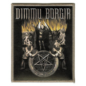 Dimmu Borgir Music Band Patch -Black and Yellow Hell - Applique