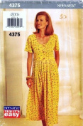 See & Sew 4375 Sewing Pattern Misses Raised Waist Dress Size 6 - 8 - 10