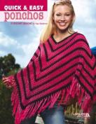 Quick & Easy Ponchos - Crochet Patterns