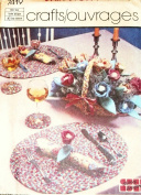 Simplicity 7419 Crafts Pattern Braided Table Place Mats Coasters Napkins Ring Basket Flowers