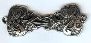 Drage (Entwined Dragons) Cloak or Cape Clasp