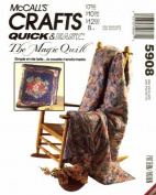 McCall's 5908 Crafts Sewing Pattern Magic Quilt Bag Pillow
