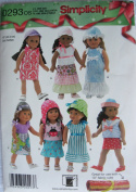 Simplicity 46cm Doll Clothes Pattern 0293