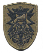 Subdued MAC-SOG Vietnam Embroidered iron On Patch