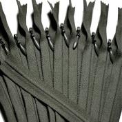Unique Invisible Zipper 20cm ~ YKK Conceal Zipper (U891) Oak