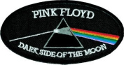 Pink Floyd - Oval Dark Side of the Moon - Emboidered Iron On or Sew On Patch