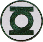 Green Lantern DC Comics Embroidered Chest Logo PATCH