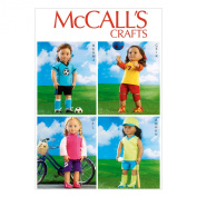 McCall Pattern Company M6904 Clothes Sewing Template for 46cm Dolls, One Size Only