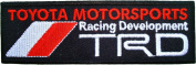 TRD TOYOTA Racing Development Trucks Cars Logo t Shirts CT02 Patches