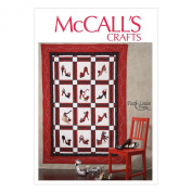 McCall Pattern Company M6863 Quilt Sewing Template, One Size