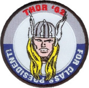 Marvel Comics Thor For President Iron On Patch P3358