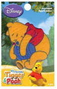 Pooh Hugs Honeypot Applique By Wrights Iron-on