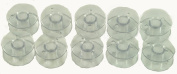 Generic Clear Plastic Sewing Machine Bobbins