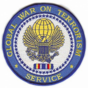 Global War on Terrorism Service Medal Patch
