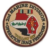2nd Marine Division Operation Iraqi Freedom
