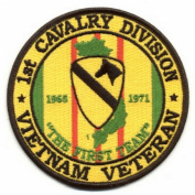 1st Cavalry Division Vietnam Veteran Patch
