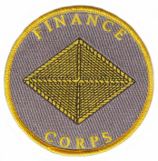 Army Finance Corps Patch