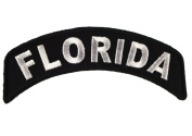 Florida State Rocker Iron or Sew on Embroidered Shoulder Patch D37