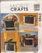 McCall Crafts Sewing Pattern 2785 - Use to Make - Decorative Computer Monitor Bands