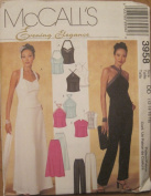 MCCALLS PATTERN 3958 MISSES'/ MISS PETITE LINED TOPS, PANTS AND SKIRT SIZE DD 12-18