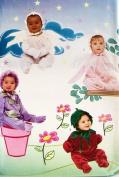 OOP Butterick Costume Pattern 6752. Infants/babies Weight