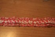 Pink Stretch Leopard Print Trim 2.5cm 3 Yards