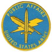 Public Affairs Patch
