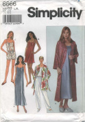 Simplicity Pattern 8666 Slip or Nightgown Size BB