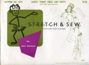 Vintage Stretch & Sew Pattern 1475 ~ Ladies' Tennis Dress & Panty