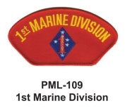 10cm Embroidered Millitary Large Patch 1st Marine Division
