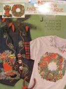 No-Sew Fabric Applique by Daisy Kingdom - Buckaroo Christmas