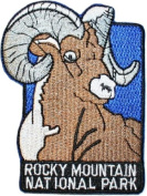 Rocky Mountain National Park Travel Souvenir Patch