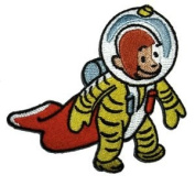 Curious George Space Suit Embroidered Iron On TV Show Patch CG5