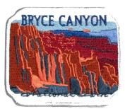 Bryce Canyon National Park Mountains Travel Souvenir Patch