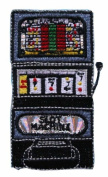 ID #0070 Slot Machine Embroidered Iron On Applique Patch
